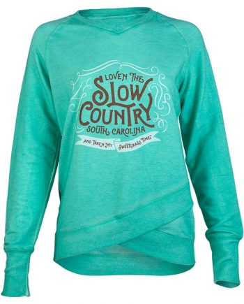Sweetgrass Time Slowcountry Southern Sweatshirt